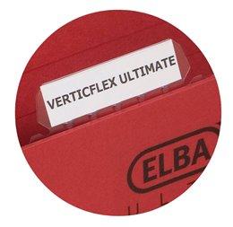 ELBA faner til flex hængemapper 25 stk/pose