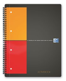 Oxford International ActiveBook, A4+, kvadreret