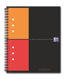 Oxford International ActiveBook, A5+, kvadreret