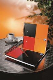 Oxford International NoteBook, A5+, kvadreret