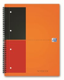 Oxford International NoteBook, A4+,linjeret