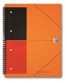 Oxford International MeetingBook, A4+, linjeret