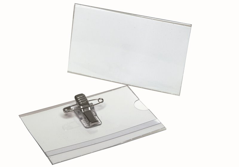 Name badges and business card holders 55x90 hamelin other information reheart Choice Image