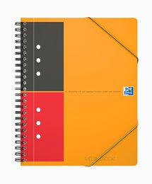 Oxford International MeetingBook, A5+, linjeret