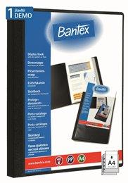 Bantex Demomappe med Indstik – 40 lommer